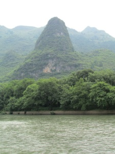 A standout on the Li River